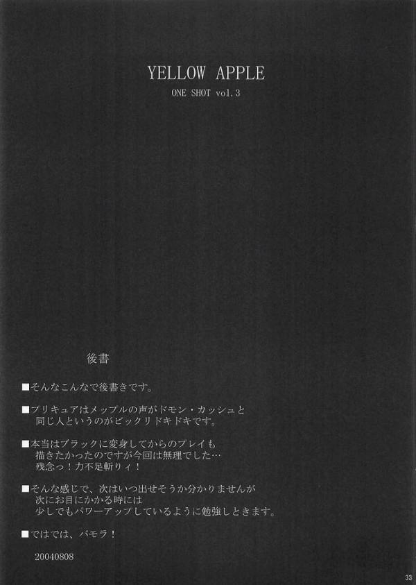【ふたりはプリキュア エロ同人誌】ミップルにそそのかされてなぎさちゃんが藤村君と付き合う為とか言いながら次々男のお相手をしてセクロスを教えてもらっちゃうよぉ~【エロ漫画】31