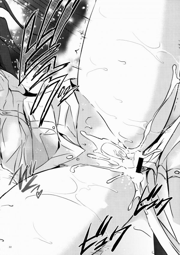 【アイマス エロ同人】巨乳JKアイドルの島村卯月とPのイチャラブSEXだよ~ww風呂場で手マン尻コキ【無料 エロ漫画】21