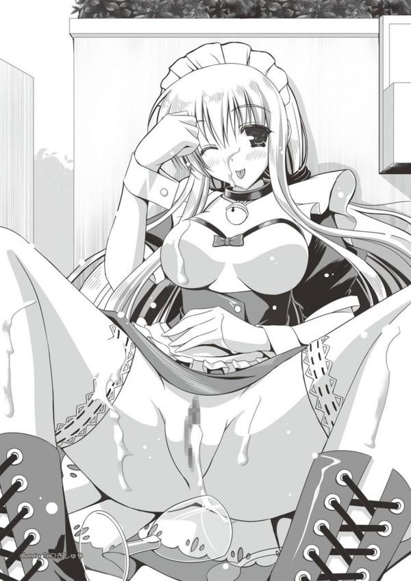 【エロ漫画・エロ同人誌】ヘタレな主人がパイパン巨乳のメイドにセックス強要してハメハメしてるおwww謎のアイテムで催眠状態にし何でも聞き入れてくれる従順なメイドにwwフェラチオ口内射精したり自らチンポ懇願させ中出しセックスしたりやりたい放題だおwww 047