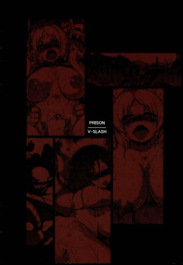【エロ漫画・エロ同人誌】巨乳な王女たちが野蛮な獣人に凌辱レイプされちゃって悶絶してますwww繁殖期に発情した獣人にがっつかれて昼夜問わず中出しされて催淫効果の精液で抗えぬまま拘束されて輪姦されたりの獣姦に堕ちていく美女達・・・ str020