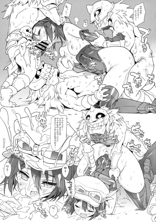 【グランブルーファンタジー エロ漫画・エロ同人誌】パイパンのフィーナ,フェリ,ゼタらが輪姦レイプされ悶絶してますwww綺麗なおっぱい揉まれ手マンされつつ2穴同時挿入の4Pレイプでみんな中出しされまくってるおwww 07