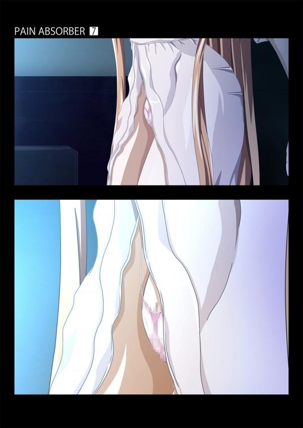 【SAO】須郷伸之にスタンガンが気絶させられて拘束された桐ヶ谷和人の前で巨乳少女の結城明日奈が生乳鷲掴みにされて…www【ソードアートオンライン エロ漫画・エロ同人誌】_0043