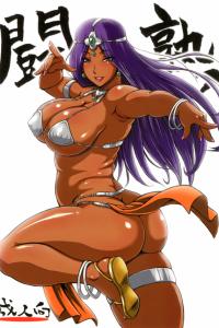 【ドラクエ エロ同人】かつて勇者とともに世界救った褐色巨乳のマーニャの現在は淫乱ビッチな熟女ですwww【無料 エロ漫画】
