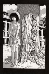 【エロ漫画】パイパンちっぱい美少女が夜な夜な全裸で徘徊してたら下衆な男たちに捕まり陵辱輪姦レイプされちゃってるおwww数人がかりで強制フェラチオやまんこ弄られつつ2穴同時に鬼畜中出しレイプされちゃってますwww