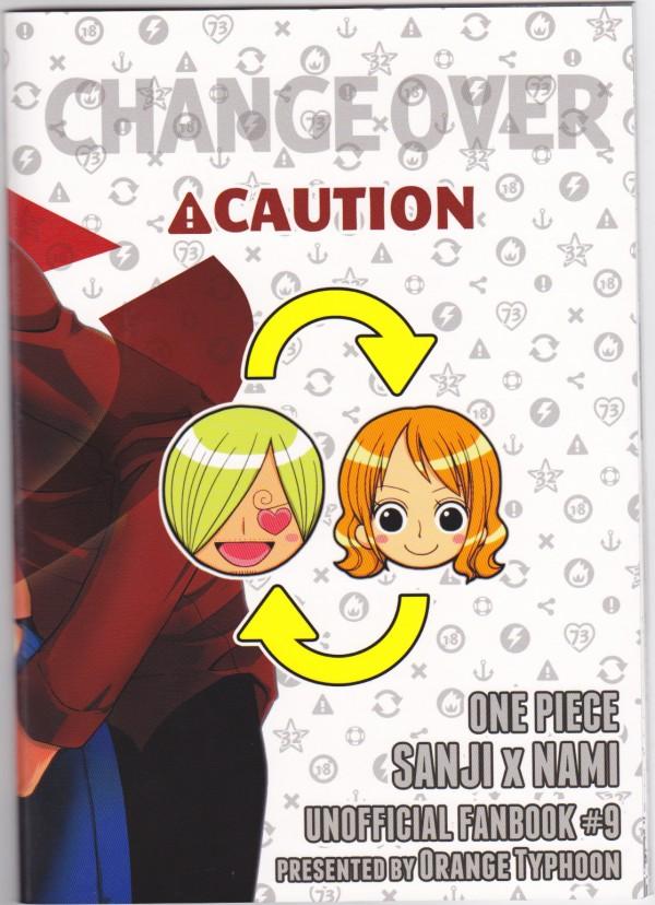 【ONE PIECE エロ漫画・エロ同人誌】身体入れ替わったナミとサンジがHしたら元の姿に戻ってさらにラブラブエッチww IMG_0035