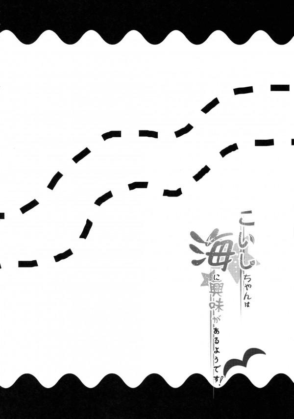 【東方 エロ同人誌】海でこいしちゃんがはしゃいでたらおっぱい見えたのでハメた【東方Project エロ漫画】 pn003