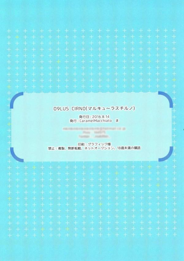 【東方Project】チルノちゃんのロリマンコに思いっきり大人チンポをぶちこむ【エロ漫画・エロ同人誌】 pn015