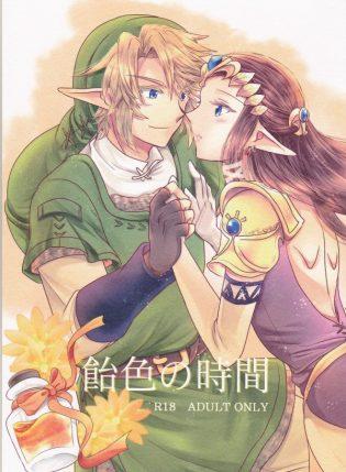 【ゼルダ エロ漫画・エロ同人誌】リンクが最近会えてなかった姫に会って身体を求めてるwww