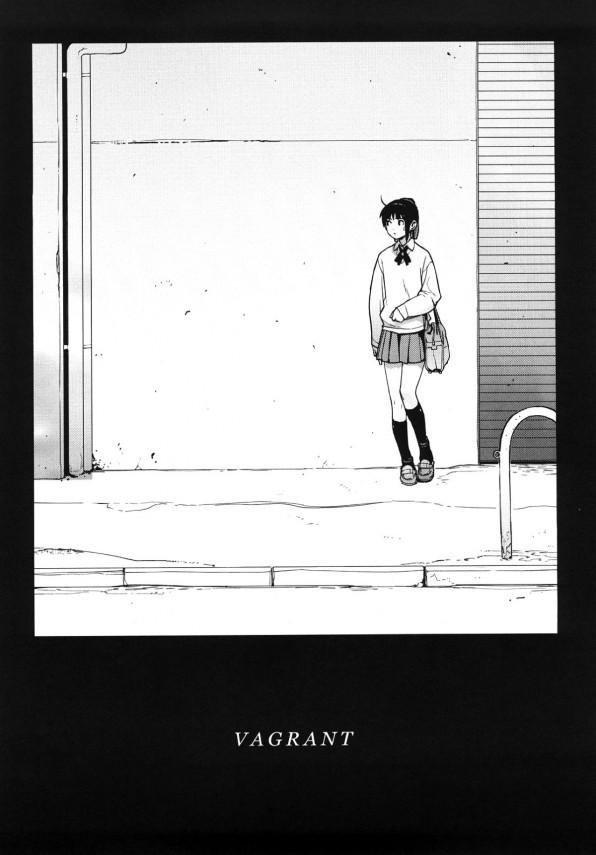 【エロ漫画】巨乳女子校生の家出少女が宿の為にエッチしまくり!【無料 エロ同人】