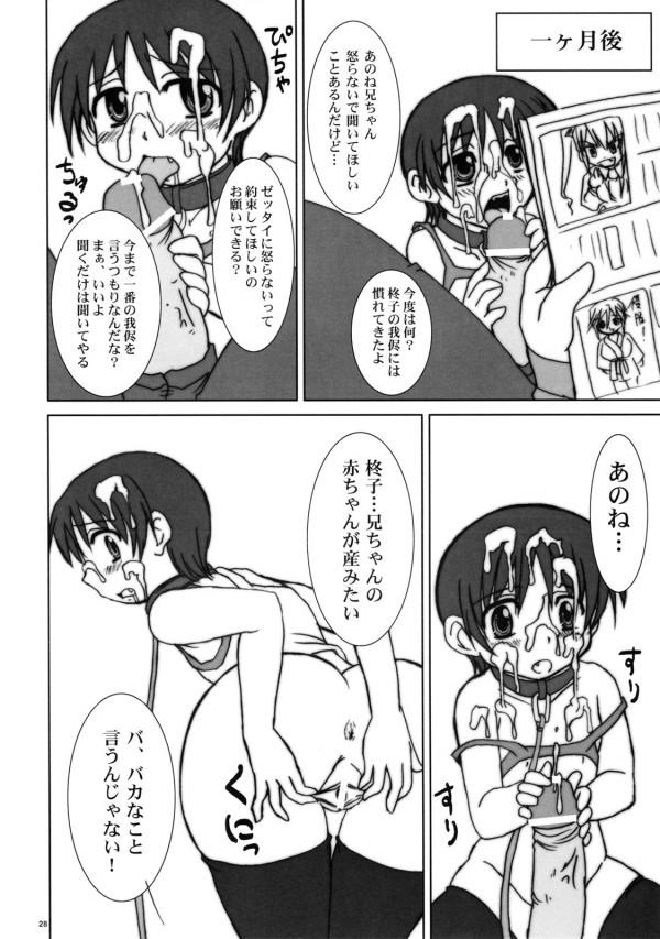 【エロ漫画・エロ同人】ロリな妹に隠れてオナニーしてたらフェラしてきたんだけどwww (27)