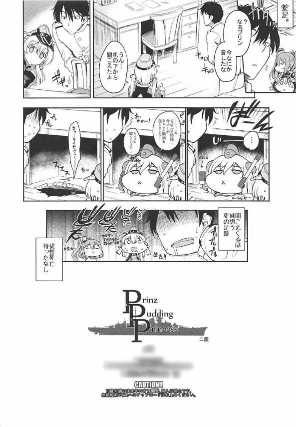 【艦これ エロ漫画・エロ同人】さっきまではサラとエッチしてたけど今はプリンちゃんとセックスしたいっ!! (25)