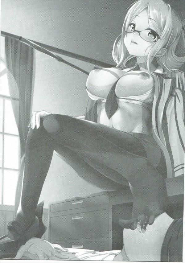 【艦これ エロ同人】パンストの香取を責めて中出しセックスwwwww【無料 エロ漫画】(2)