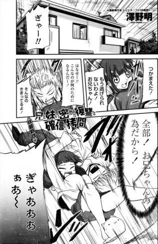 【エロ漫画】ドSな妹の陥没乳首を勃起させてパイズリさせる兄!【澤野明 エロ同人】