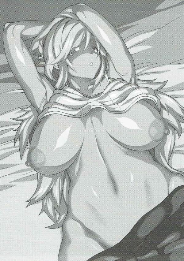 【グラブル エロ同人】シルヴァ姉がククルらを下衆な団長から守ろうとしたけど…【無料 エロ漫画】(2)