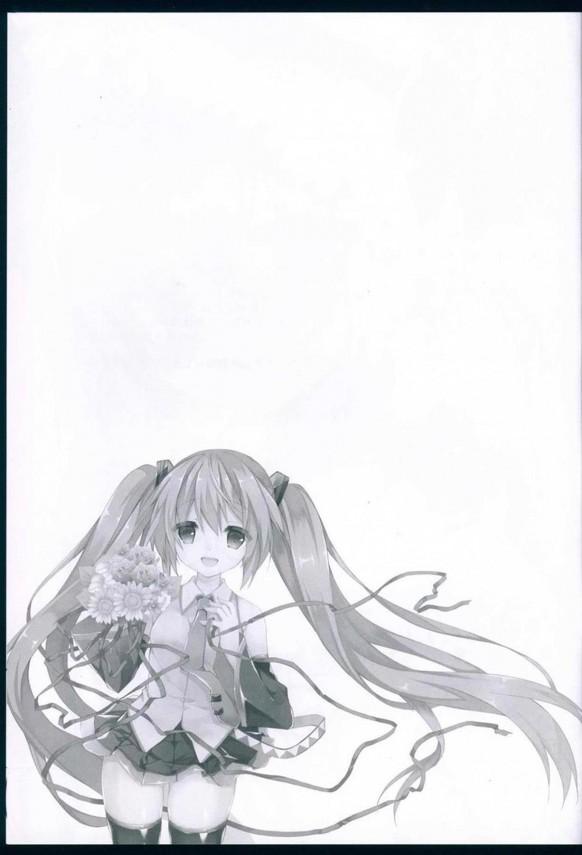 【ボカロ】初音ミクとマスターは仲良し♪恋バナとかもしちゃうwww【VOCALOID エロ漫画・エロ同人】 (31)