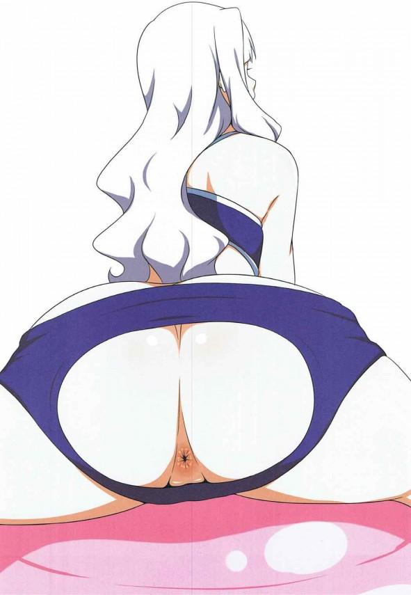【アイマス】四条貴音の爆乳グラビアアイドルが発売されましたwww【エロ漫画・エロ同人】 (5)
