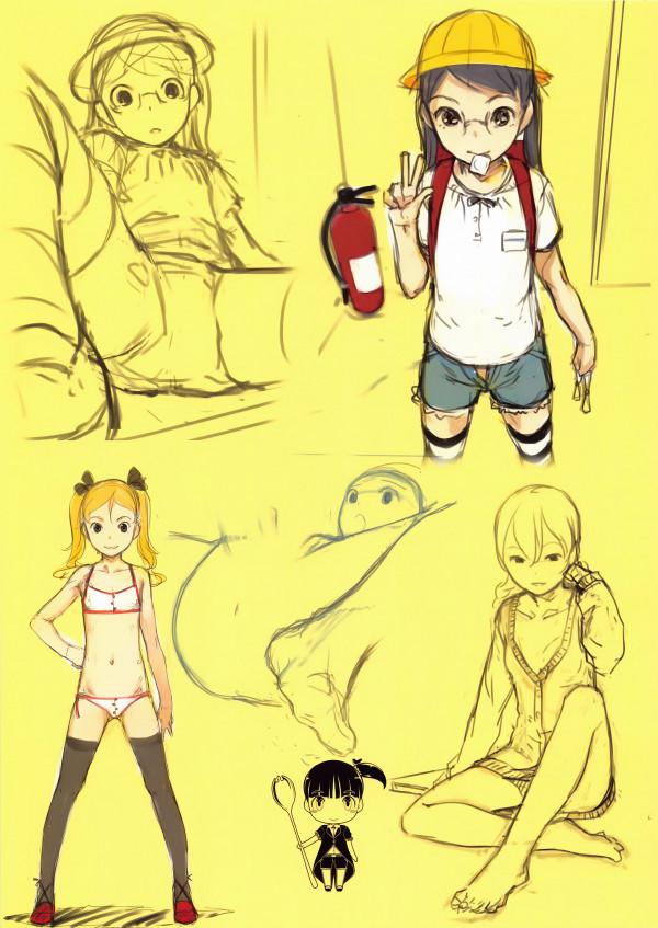 ロリっ子の体は美しすぎるwwwこんな華奢な体を犯せるとかwwww【エロ漫画・エロ同人】Decomposition And Choice Vol (16)