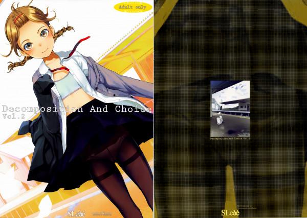 ロリっ子の体は美しすぎるwwwこんな華奢な体を犯せるとかwwww【エロ漫画・エロ同人】Decomposition And Choice Vol (18)