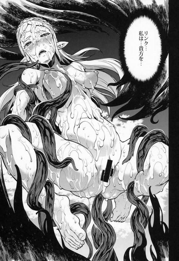 【ゼルダの伝説】パーヤちゃんは男たちに輪姦されるのが好きなド変態www【エロ漫画・エロ同人】 (22)