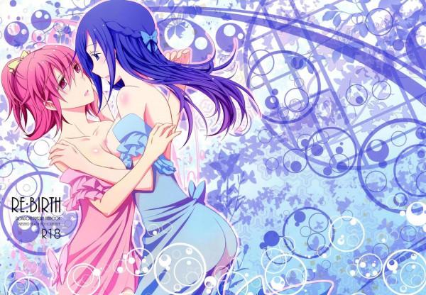 【プリキュア】相田マナちゃんと菱川六花ちゃんはどろどろに愛し合う♡♡【エロ漫画・エロ同人】 (1)