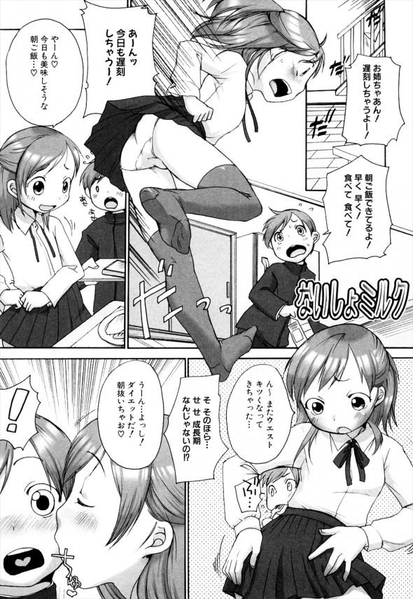 【エロ漫画】無知な弟が姉を睡眠姦して中出しセックスwこれじゃあ新しい家族が増えちゃうww