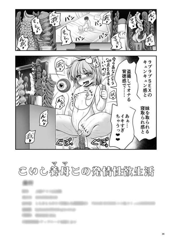 【エロ同人 東方】こいしに拾われ育てられたショタっ子はこいしに興奮して勃起すると手コキされちゃう!【無料 エロ漫画】 (34)