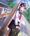 【エロ同人】鉄道と通学するセーラー服の少女をモチーフにしたフルカラーな美麗イラスト集!電車に乗って外の景色を見ながら佇む少女や線路の上に立って遠くを見つめる少女など!!