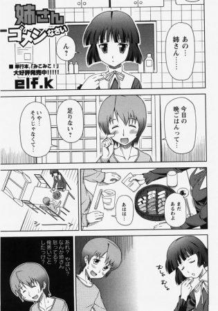 【エロ漫画】何故か不機嫌な姉さんの機嫌取るために豊満なおっぱい揉んだり、フェラチオされて口内射精…【無料 エロ同人】