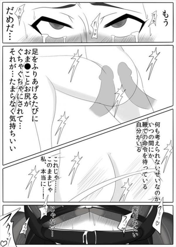 【エロ漫画・エロ同人誌】囚われた正義のヒロインが機械姦やSMプレイで快楽拷問されちゃってるよwww【堕ち玩】 (29)