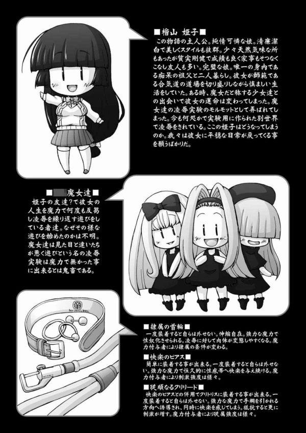 【エロ同人誌】全身に卑猥な落書きやピアス、搾乳器や子宮脱など・・・肉便女の酷い姿をどうぞwww【サークルENERGY エロ漫画】 (3)