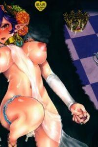 【エロ漫画・エロ同人誌】悪魔にさらわれたふたなり巨乳王女が陵辱中出しレイプされて性奴隷堕ちしてしまう・・・【ピシュ☆ラバ】