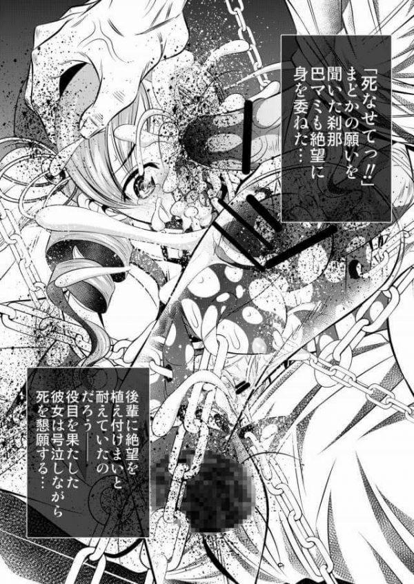 【まどマギ エロ同人】※グロ注意 まどか、ほむら、マミが鬼畜拷問陵辱のタイムループエンドレス【有害図書企画 エロ漫画】 (22)