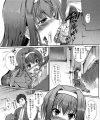 【エロ漫画】学校で隠れて幼馴染にチンポをしゃぶらせまくる!【はんぺら エロ同人】