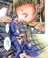 【エロ漫画】高架下でオナニーするのが好きなお嬢様は男子に盗撮されてしまい、脅迫されてご奉仕しちゃう♪【榎本ハイツ エロ同人】