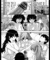 【エロ漫画】美女四人と男一人でのハーレムな旅行でみんな仲良く裸のお突き合いw【無料 エロ同人】