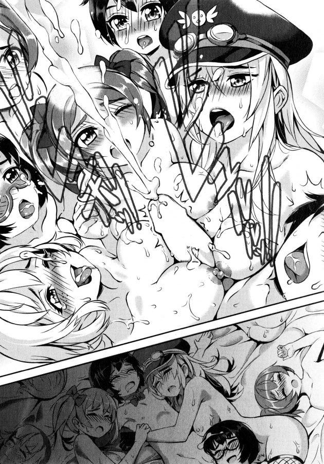 【エロ漫画】大木と中谷はセックスで中出ししてると他の部員からもよろしくと言われる。【無料 エロ同人】 (36)