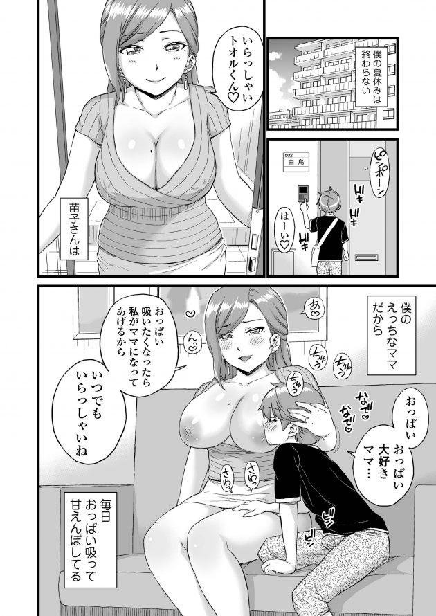 【エロ同人誌 後半】男の子は隣に住んでいる叔母とセックスする関係になっちゃうぞ!【無料 エロ(204)