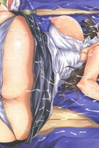 【エロ漫画】学校で体操服ブルマ姿のパイパン巨乳JKに誘惑されるw【無料 エロ同人】